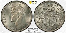 E6 British Africa Southern Rhodesia 1941 1/2 Crown PCGS MS-62