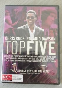 Top Five By Chris Rock -Rare DVD Region 4 New And Sealed Free Postage