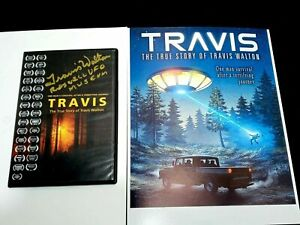 Travis Walton Signed CD with Roswell UFO Museum Inscription & 8x10 Movie Photo