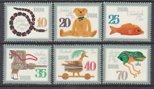 Germany DDR 2231a-f MNH 1981 Children's Toys Singles Full Set of 6 Very Fine