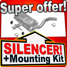Middle Silencer Vw Golf III Vento 2.0 GTI 16V 2.8 VR6 1991-1998 Exhaust Box EEU