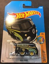 Hot Wheels CUSTOM Super Mooneyes Volkswagen Kool Kombi with Real Riders