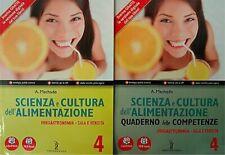 LIBRO SCIENZA E CULTURA DELL'ALIMENTAZIONE 4 POSEIDONIA 9788848257886