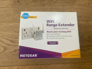 Netgear EX2700-100UKS N300 Wi-Fi Range Extender Booster - Essentials - Boxed