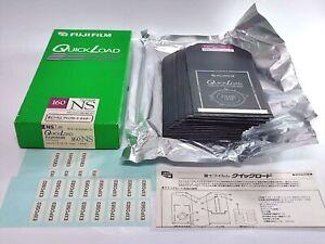 【 Open Box 23 Sheets 】FUJI FUJICOLOR Quick Load 160NS 4x5 Exp.1998-1 #707-2