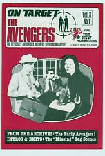 On Target the Avengers vol. 3, #1 & #5 lot of 2  Steed & Peel Diana Rigg fine +