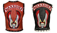 The Warriors Movie Stylish Vest Leather Jacket Bike Riders Christmas Special