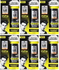 6 x Schwarzkopf Taft Styling Powder Rough & Tough 10g 100% Brand New