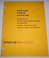 New Holland Caterpillar 3208 Diesel Engine Parts Catalog Manual Book cat