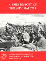 WW I WW II 14th Marine Regiment Roi Namur Saipan Tinian Iwo Jima History Book
