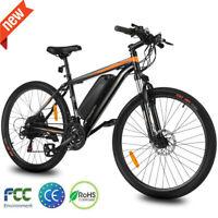 26INCH Electric Bike Mountain Bicycle EBike SHIMANO 21-Speed 36V Li-Battery*