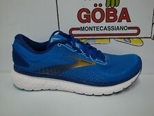 BROOKS GLYCERIN 18 UOMO PIANTA  459 - BLUE/MAZARINE/GOLD art. 110329 1D 459