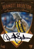 Hawthorn 50 Years Premiership Album Card Set Signature Card Dermott Brereton#037