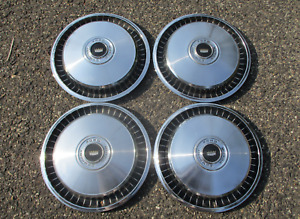 Genuine 1971 1972 Ford Galaxie Country Squire LTD hubcaps wheel covers
