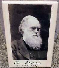 "Charles Darwin 1874 Vintage Photo 2"" x 3"" Refrigerator Locker Magnet"