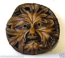 Green Man Reproduction Medieval Cathedral Carving Gothic Pagan Gift Greenman Oak