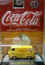 M2 machines Coca-Cola 1965 FORD ECONOLINE DELIVERY VAN RED LINE REAL RIDERS MOMC