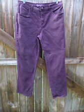 "Gloria Vanderbilt Amanda Purple Jeans Size 10S Inseam 28""...................Z202"