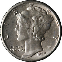 1935-D Mercury Dime Great Deals From The Executive Coin Company