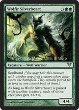 Avacyn Restored ~ WOLFIR SILVERHEART rare Magic the Gathering card