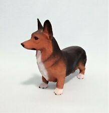 More details for pembroke welsh corgi figurine rare tricolour vintage north light model vgc