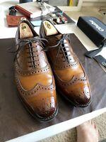 Allen Edmonds McAllister size 10 in custom patina