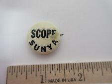Vintage Scope Sunya Button, Badge, Pin, Pinback