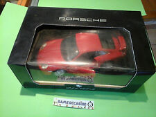PORSCHE 911 GT 3 ROUGE RED BURAGO 1/18 METAL VOITURE MINIATURE CAR
