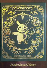 Pokenatomy Unofficial Pokemon Anatomy Guide Book Leather Hardcover Limited Ed