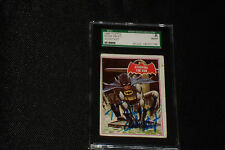 ADAM WEST 1966 BATMAN VINTAGE SIGNED AUTOGRAPHED CARD #39A SGC SLABBED