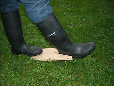 BOOT JACK SHOE PULLER WELLIES RIDEING BOOTS REMOVER SOLID BEECH