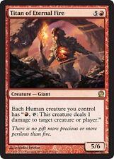FOIL Titano del Fuoco Eterno - Titan of Eternal Fire MTG MAGIC THS Theros Eng