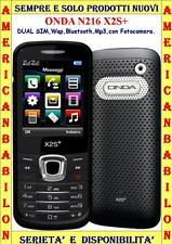 "ONDA N216 X2S+ DUAL SIM ,WAP,BLUETOOTH,MP3,DISPLAY 2,2"",ITALIA GRAY -"