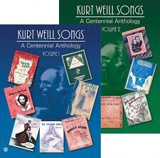 Kurt Weill Songs A Centennial Anthology Volumes 1 & 2 Sheet Music 2-Bo 000321574