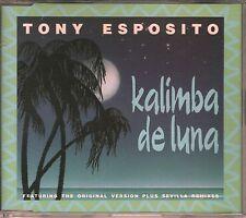 Tony Esposito CD-Single KALIMBA DE LUNA  /  INKL. ORIGINAL VERSION  © 1992