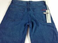 Imitation Jeans Womens 27/28 Tall NEW Dark Hunger Project 31 x 35 Actual Wide