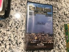 THE HOLY LAND 5000 YEARS AN INCREDIBLE JOURNEY NEW SEALED VHS! NOT DVD 1985 TOUR