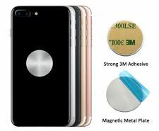 x2 Plaque Métal Pad Adhésif  Aimant Voiture Support Téléphone Mobile GPS Plate