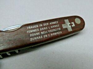 Swiss Army Hobo / Picnic 100mm Knife