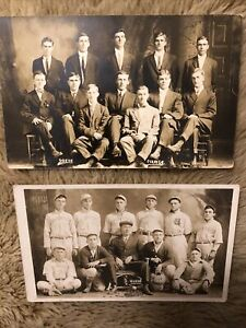 """Early 1900s Baseball Team Handsome Young Men Players """" Pirates"""" Mitts Baseball"""