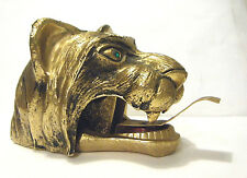 TED ARNOLD TIGER HEAD RARE VINTAGE 1960s GOLD PLATE RS TAPE DSPOSAL OUTSIDE ART