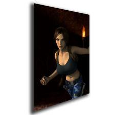 A3 Lara Croft, Tomb Raider, Satin Poster Wall Art