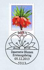 BRD 2013: Die Kaiserkrone Nr. 3043 mit Bonner Ersttags-Sonderstempel! 1A! 1601