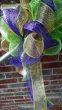 Mardi-Gras-Deco-Mesh-Party-Bow-Door-Wreath--Mailbox-Decoration