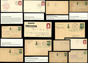 PHILIPPINES JAPAN OCCUPATION STATIONERY CARDS +ENVS USED FDC CENSOR SPECIAL PMKS
