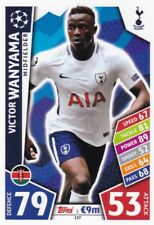 Victor Wanyama 2017-18 Topps Champions League Match Attax,Cartas Coleccionables