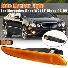 Right Side Marker Light Lamp Amber For Mercedes Benz W211 E320 E350 E550 E-Class