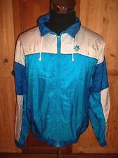 vintage 80`s CSS Nylon Jacke sports jacket shiny oldschool Trainingsjacke L