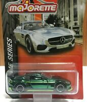 Majorette Aston Martin Vantage GT8 Dark Chrome Green 1/60 229D Free Display Box
