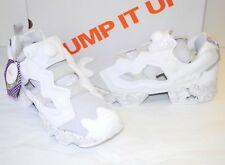 New $180 Reebok InstaPump Pump Fury ACHM White/Marbled Grey sz 10 Retro Omni